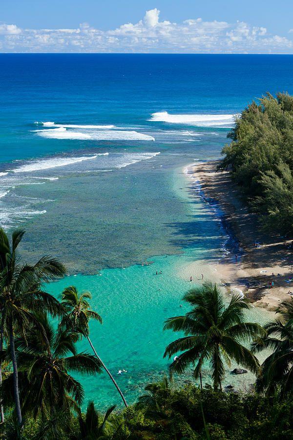 Ke'e Beach, Kauai #Hawaii...ahh! I remember this spot!