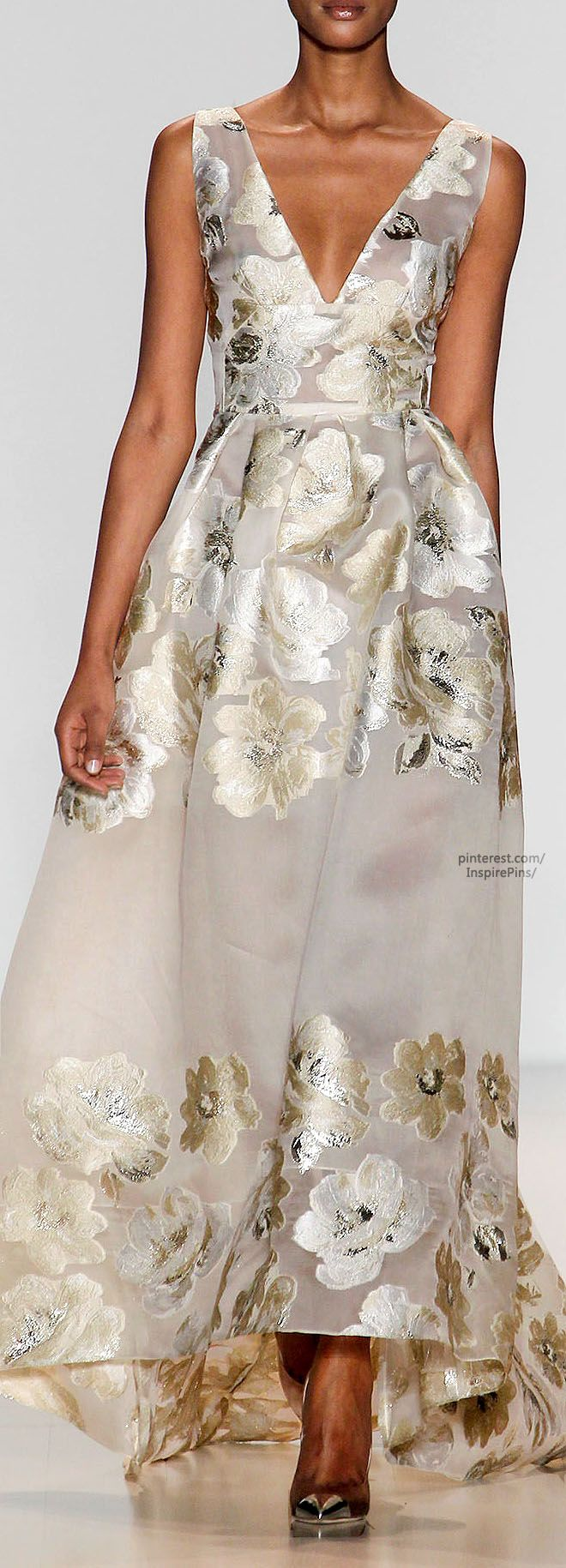 Fall 2014 Ready-to-Wear Lela Rose- you would feel like a million dollars wearing this baby!