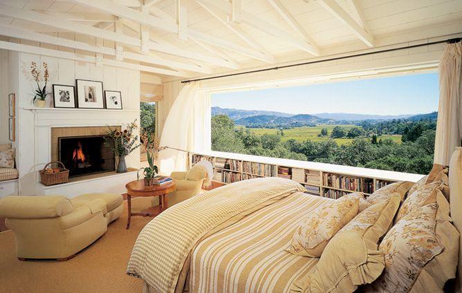 Napa ValleyDreams Bedrooms, Beds, Big Windows, The View, Napa Valley, Master Bedrooms, Dreams Room, House, Beautiful Bedrooms