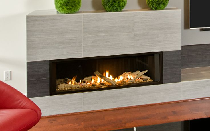 1700I Valor L2 Linear Series with Driftwood & 1 Inch Surround