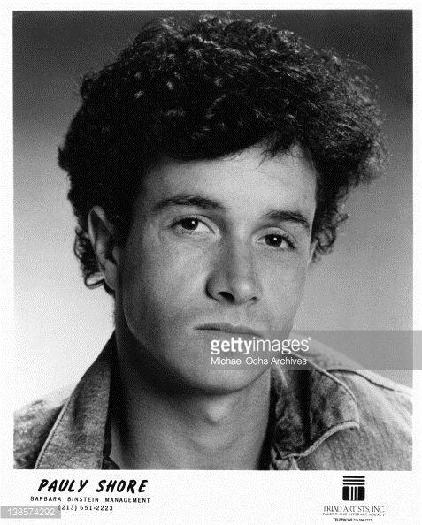 Pauly Shore, 1987. | Pauly shore :) | Pinterest | Pauly shore, Hollywood and Hollywood hearts