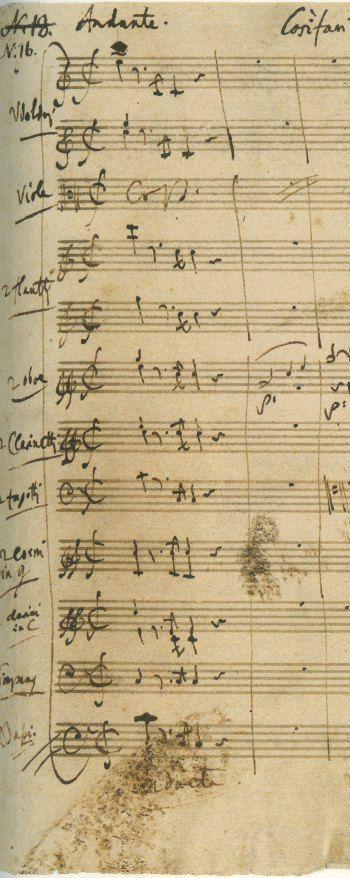 Mozart, Così fan tutte