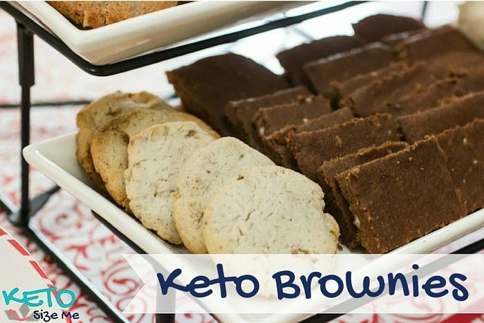 Delicious Keto Brownies. 1 Net carb per serving.