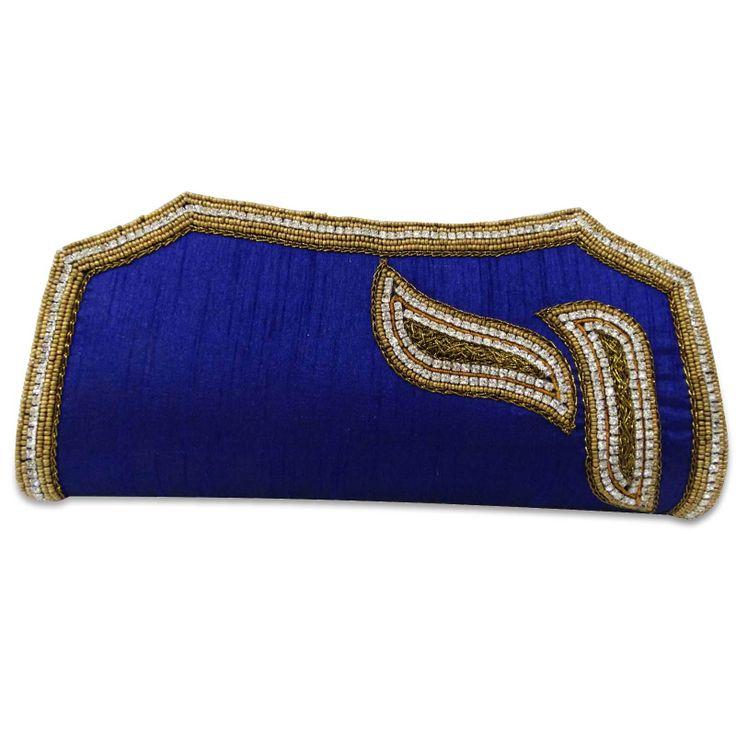 Beautiful pure silk fabric woman clutch purse /handbag. ..this is img