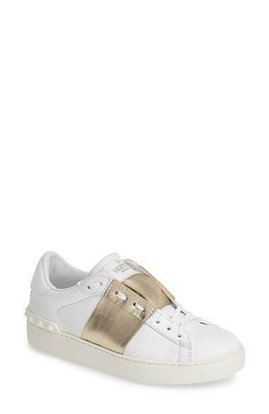Leather sneakers Valentino and Sneakers women on Pinterest