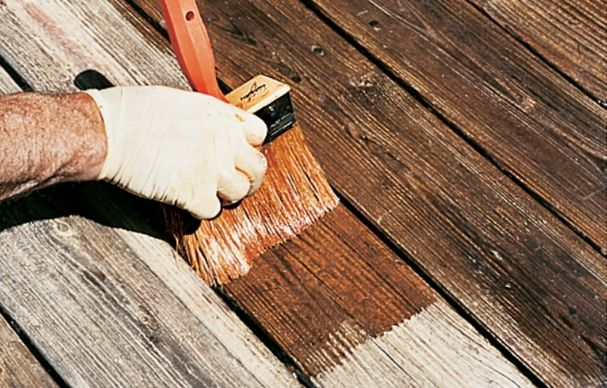 Go From An Old Deck To New In 4 Steps Deck Maintenance Deck