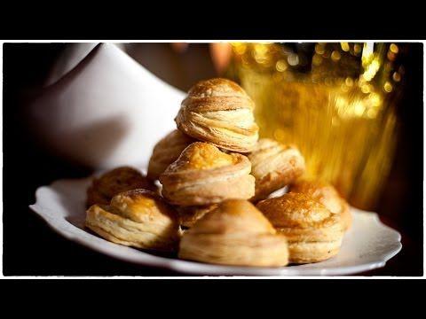 Mushroom Pasties - Paszteciki z Pieczarkami - Christmas Menu Recipe #59