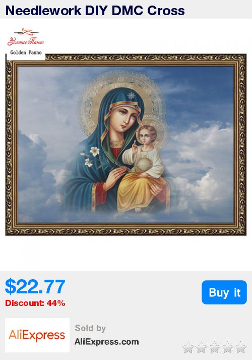 Needlework DIY DMC Cross stitch,unfinished Sets For Embroidery kits religion people Madonna in thecloud enough thread  wall home * Pub Date: 12:22 May 14 2017
