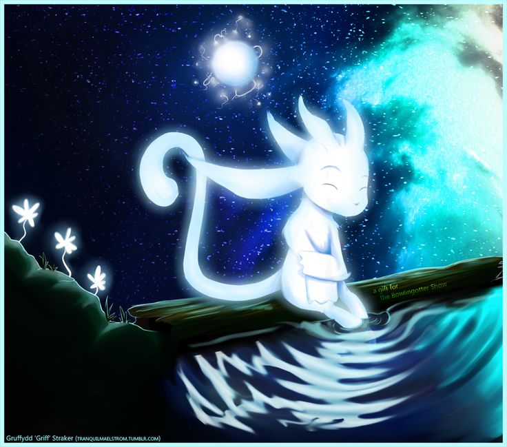 Ori and the Blind Forest fan art by Tumblr user tranquilmaelstrom