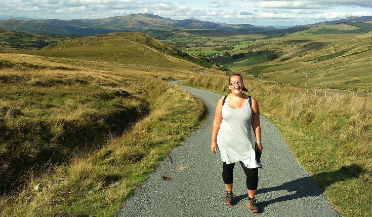 Clare Balding walks Glyndwr's Way with Ursula Martin, who's walked over 3,000 round Wales. http://www.bbc.co.uk/programmes/b07bft89