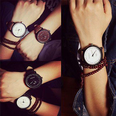 Men-Women-Fashion-Watch-Steel-Case-Leather-Quartz-Analog-Couples-Wrist-Watch