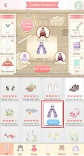 "Dress Up Diary ""Clothes Upgrade"""
