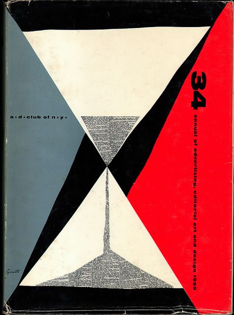 George Giusti cover of Annual of Advertising, Editorial Art and Design 1955 by sandiv999, via Flickr