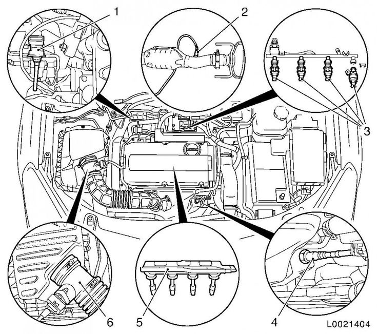 Diagram Of Vauxhall Astra Engine