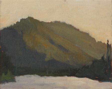 Sunset at Lightening Lake