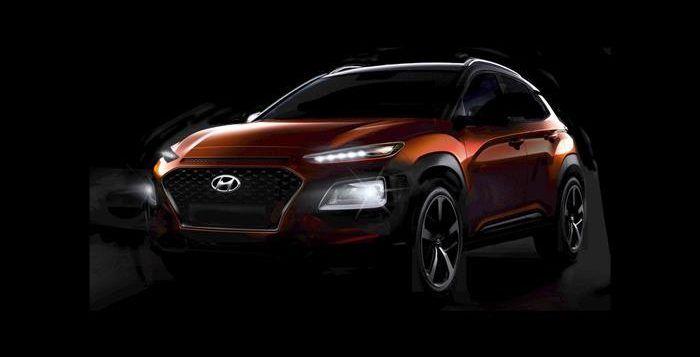 Wujud Mobil Hyundai Kona Calon Rival Honda Hr V News Dunia