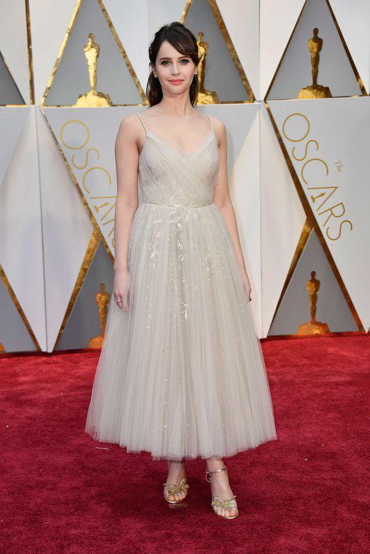 Oscary 2017: Felicity Jones w sukni Dior