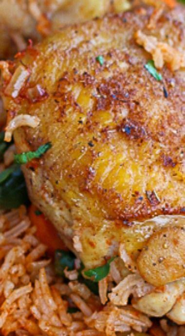 Jolloff Rice and Chicken