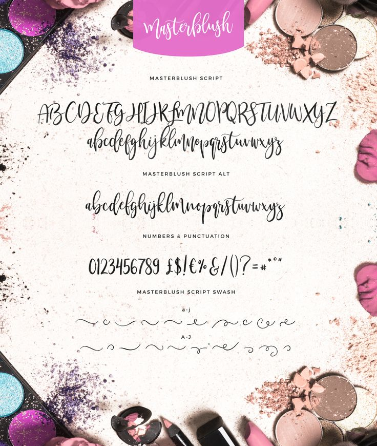 Masterblush Font Lettering, Modern typeface, Hand lettering