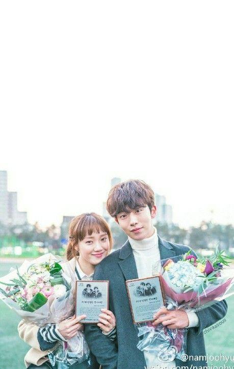 Weightlifting fairy lockscreen  #namjoohyuk #leesungkyung #kimbokjoo #wfkbj #namlee