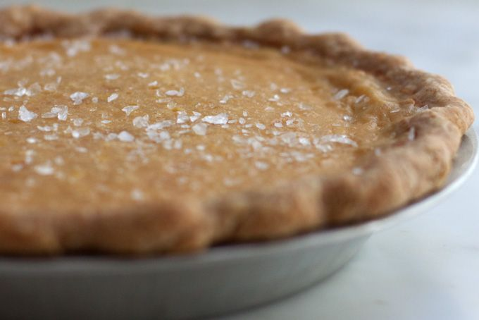 Gorgeously silky, Canadian approved Maple Buttermilk Pie - soooo yummy! :)
