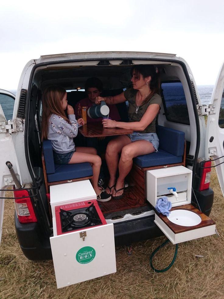 Kit camping motorhome rodante para partner kangoo berlingo for Casa rodante para parrilla