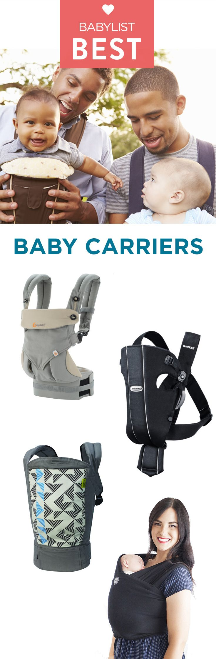 No matter how cozy a swing or bouncy seat is, babies like being cradled in your arms best. But toting your love around all day isn't really feasible unless you have arms of steel, and a bunch of minions to do your daily tasks. That's where a baby carrier comes in handy.