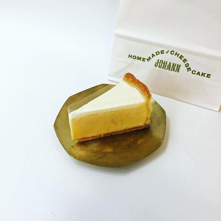 濃厚クリーミー注目の街中目黒の人気店ヨハンのチーズケーキ