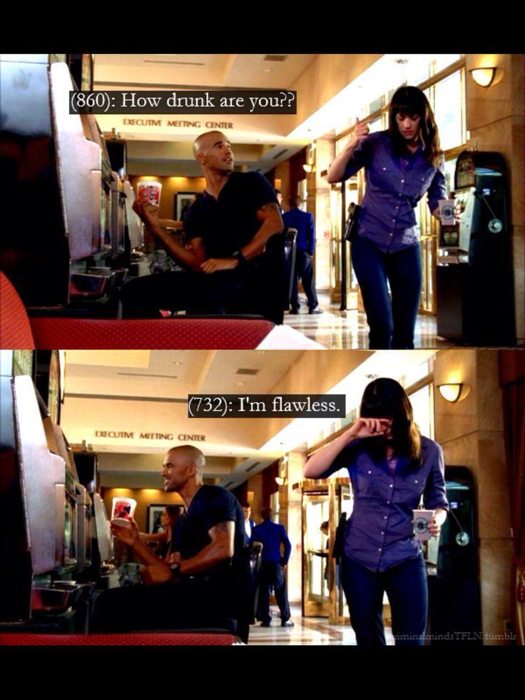 DRUNK EMILY??????? NEVER LOL-Criminal Minds