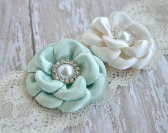 diadema flor gris diadema de satn cinta por