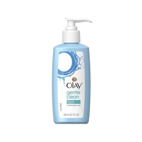 Olay Foaming Face Wash Sensitive Facial Cleanser, 6.78 fl oz... ($4.49) ❤ liked on Polyvore featuring beauty products, skincare, face care, face cleansers, olay face wash, olay face cleanser, olay facial cleanser and olay