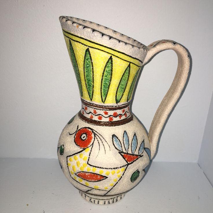 Vintage vase fra Fratelli Fanciullacci. Mid Century Italian Ceramics.