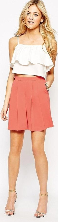 Oasis Culotte Shorts long enough to wear to the office — and beyond!