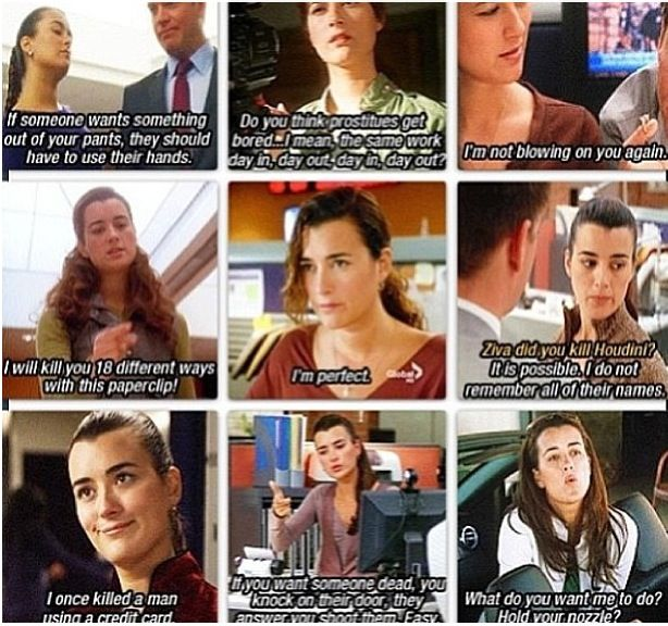 You are so LOVED, Cote. Thank you for 8 amazing years of Ziva David.