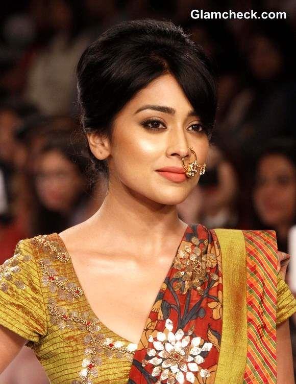 Shriya Saran Lakme Fashion Week Winter-Festive 2014