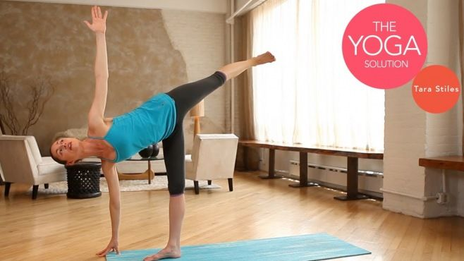 Yeni Başlayanlar İçin Yoga Denge Duruşları - Yeni başlayanlar için faydalı ve sağlıklı yoga denge duruşları (Building Balance Beginner Yoga With Tara Stiles Video)