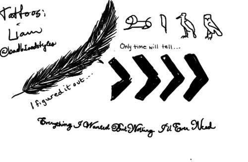 Liam's tattoos