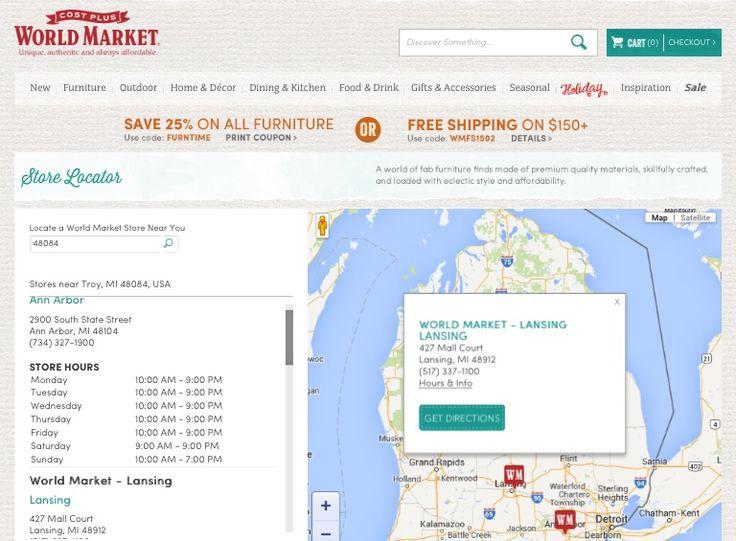 World market locations. Die besten 25  World market locations Ideen auf Pinterest   Strich