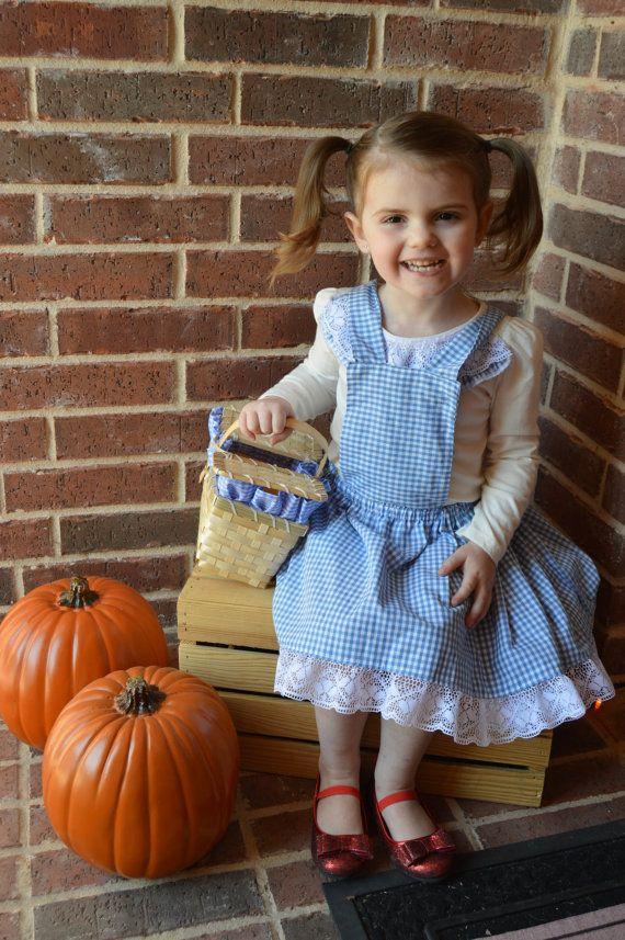 Handmade Dorothy halloween costume!