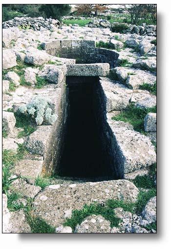 Sardinia,Serri, Santa Vittoria, Sacred well