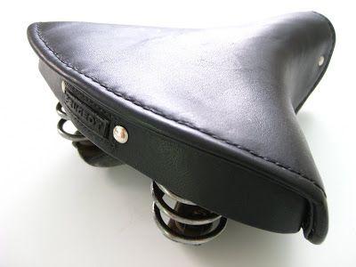 Busyman Bicycles: Peugeot Restoration: Mattress Saddle