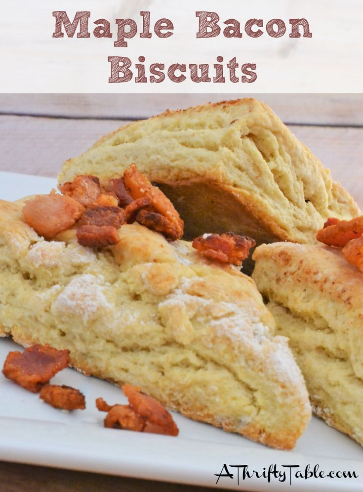 Try these Copycat Ruby Tuesday Maple Bacon Biscuits & you'll find yourself craving them on a regular basis!