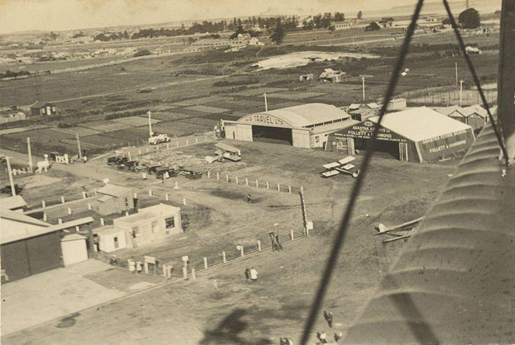 Mascot Airport in Sydney in 1931.