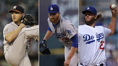 La rotación de zurdos de los Dodgers sería una curiosidad histórica