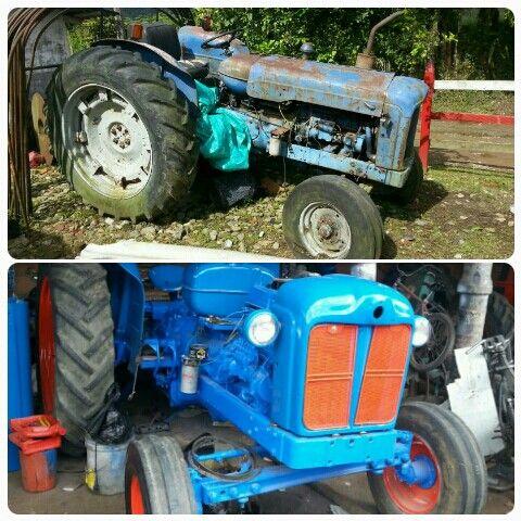 Tractor antiguo 51