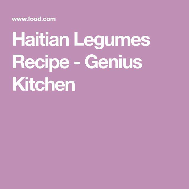 Haitian Legumes Recipe - Genius Kitchen