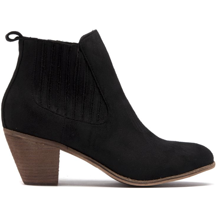 Riptide is your feminine chelsea boot featuring elastic gussets and a 6.5cm heel.
