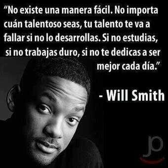 frases de motivacion para estudiantes - will smith