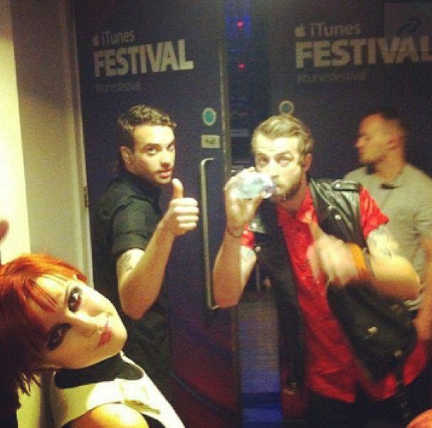 #paramore #itunesfestival #itunes #backstage #aintitfun #stillintoyou