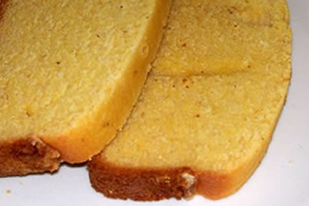 Easily and Happily Gluten Free: Easy Corn bread Sandwich Bread, yellow bread for finger sandwiches, yellow theme baby shower or wedding breakfast